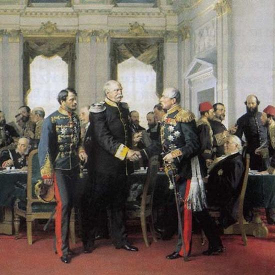 Kongres zakończył się podpisaniem traktatu berlińskiego 13 ipca 1878 roku.