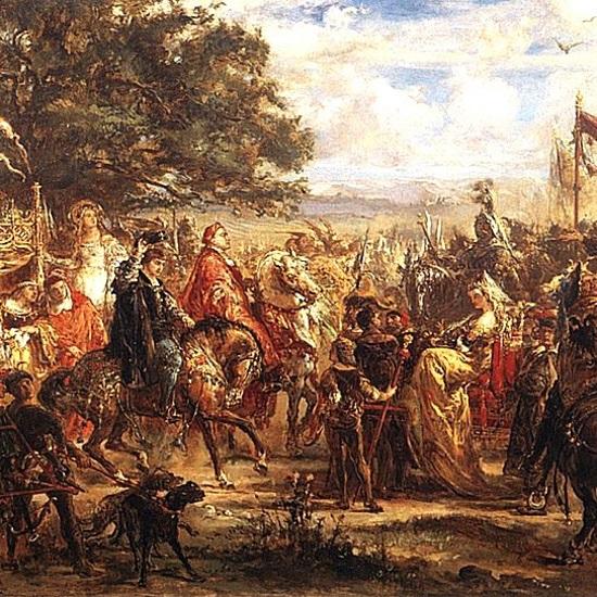 Spotkanie trzech monarchów w Wiedniu odbyło się w dniach 15-26 lipca 1515 roku.