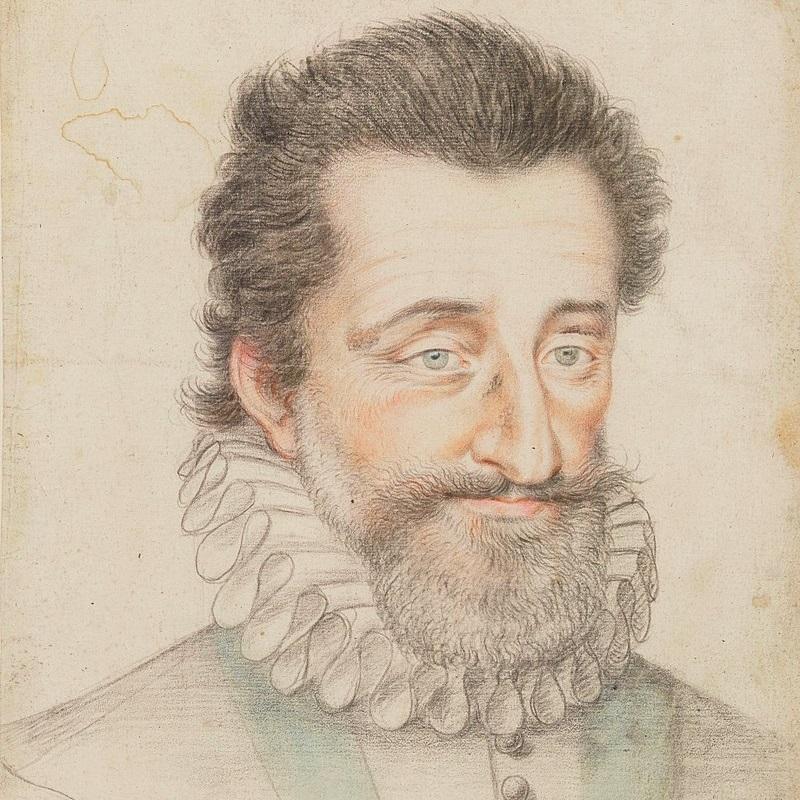 Henryk IV rządził we Francji w latach 1589-1610.