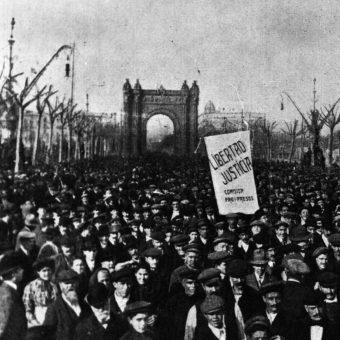Zamieszki w miastach Katalonii trwały do 2 sierpnia 1909 roku.