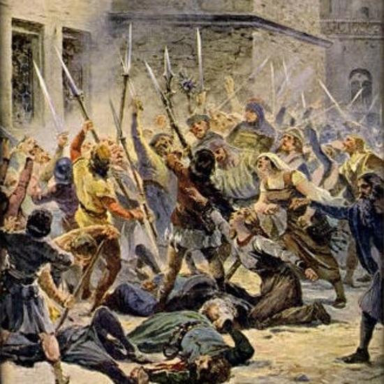 Do incydentu doszło po tym, jak tłum wdarł się do praskiego ratusza.
