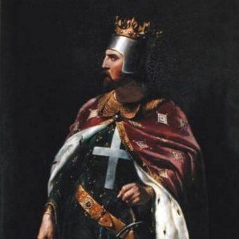 Ryszard Lwie Serce objął tron po zmarłym ojcu, Henryku II.