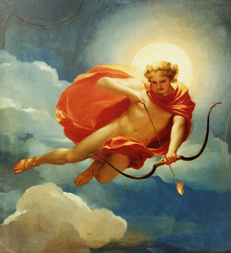 Rzymski bóg Helios, jako personifikacja południa.