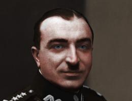 Generał Wilhelm Orlik-Rückemann.