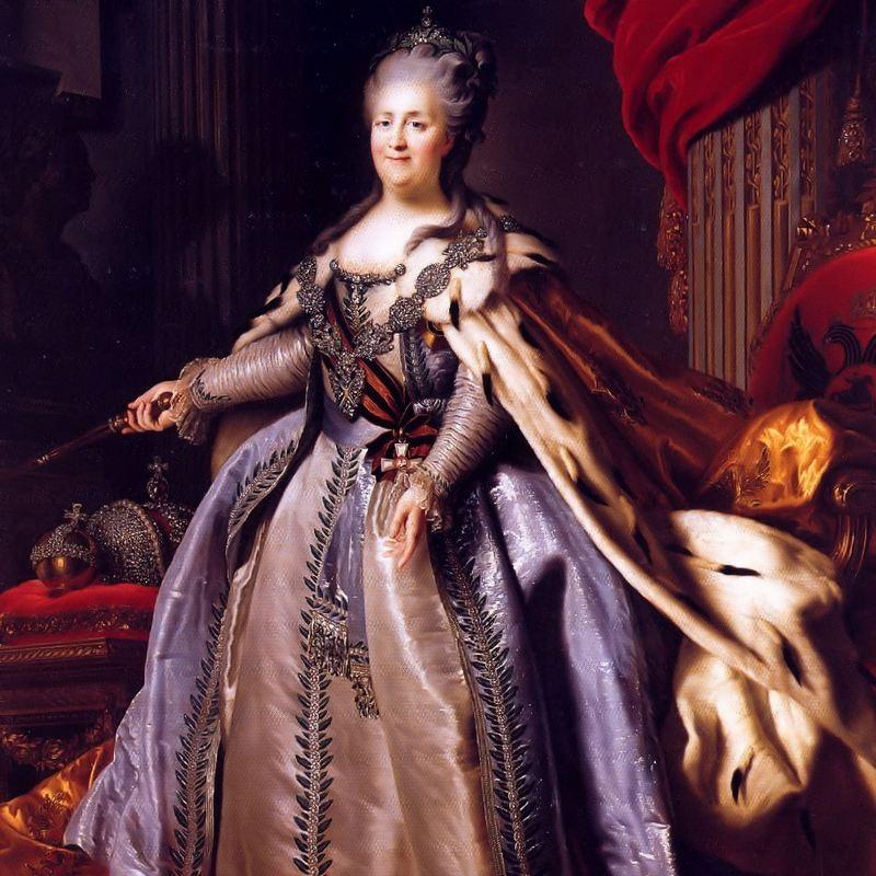 Katarzyna II rządziła Rosją w latach 1762-1796.