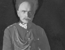 Dowódca 1. Armii generał Aleksandr Osiński.