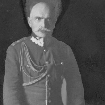 Dowódca 1 Armii generał Aleksandr Osiński.