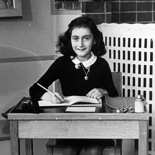 Anna Frank (fot. domena publiczna)