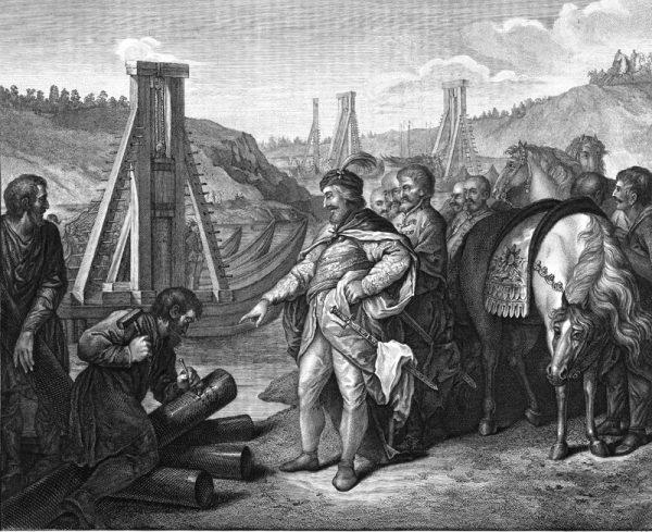 Bolesław Chrobry nie pozwolił cesarzowi Henrykowi decydować o przebiegu polsko-niemieckiej granicy.