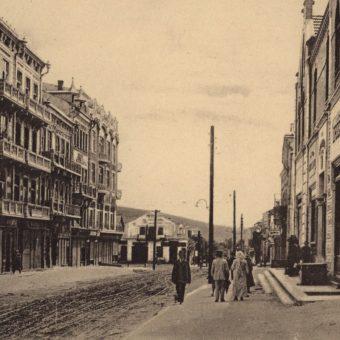 Czortkowski rynek na pocztówce z 1914 roku.