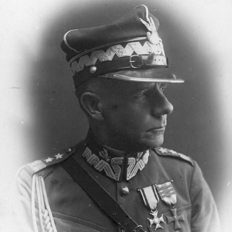 Dowódca polskich wojska podczas bitwy pod Dubnem generał Franciszek Krajowski.