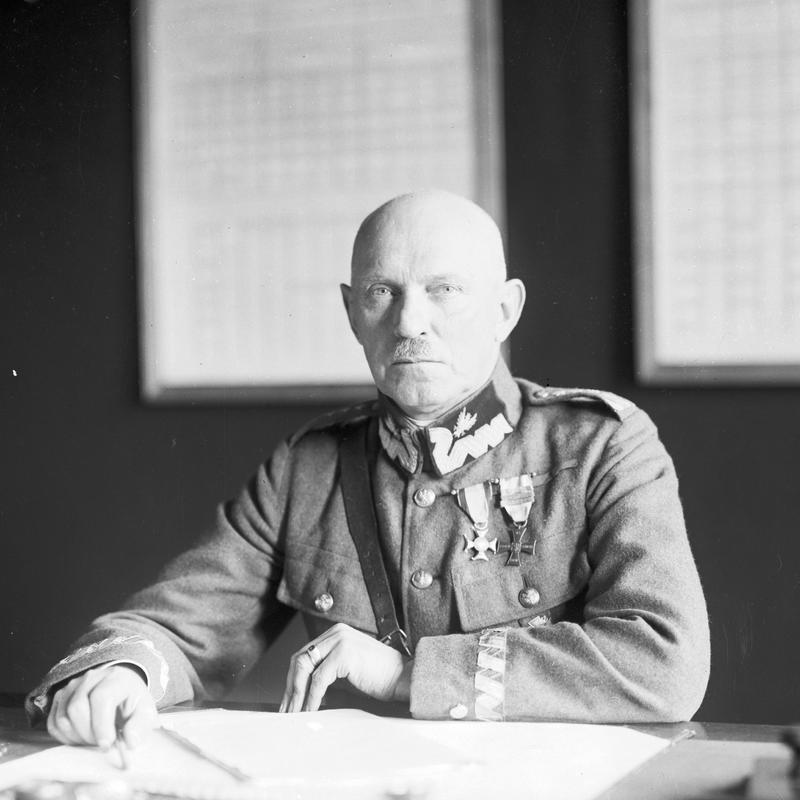 Dowódca Frontu Północno-Wschodniego generał Stanisław Szeptycki. Zdjęcie z lat 20.