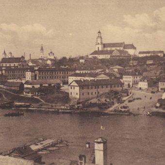 Grodno na pocztówce z około 1915 roku.