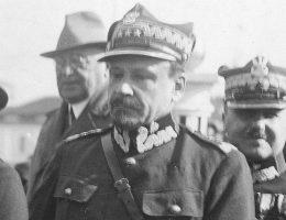 Józef Haller, na zdjęciu już jako generał Wojska Polskiego.