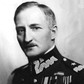 Generał J. Olszyna- Wilczyński rozstrzelany w zemście za obronę Grodna.