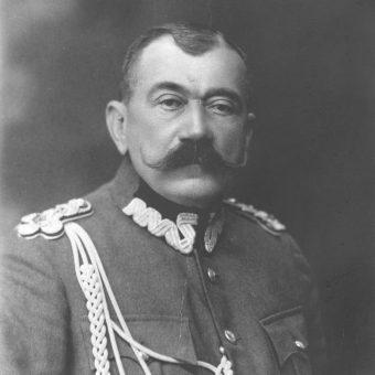 Generał Jan Rządkowski, dowódca grupy swojego imienia.