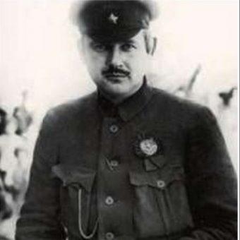 Dowódca bolszewickiej IV Armii Jewgienij Siergiejew.
