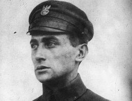 Julian Stachiewicz na zdjęciu z czasów służby w Legionach.