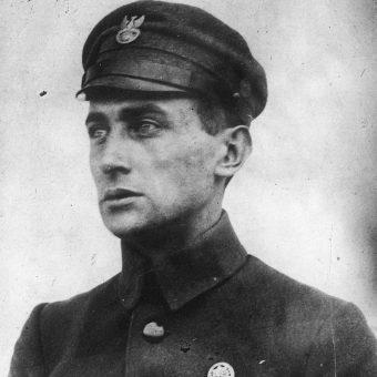 Julian Stachiewicz na zdjęciu z czasów służby w Legionach Polskich.