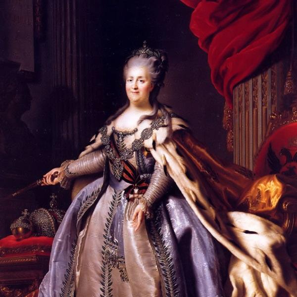 Katarzyna II (fot. domena publiczna)