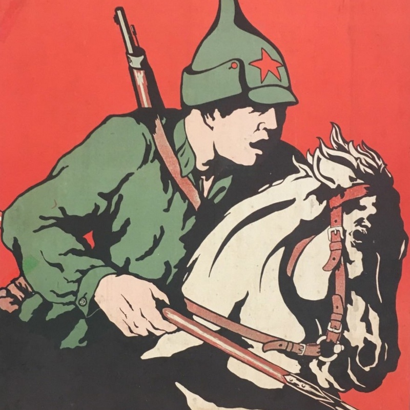 """Pod Ostrogiem polskie wojska starły się z """"Konarmią""""."""