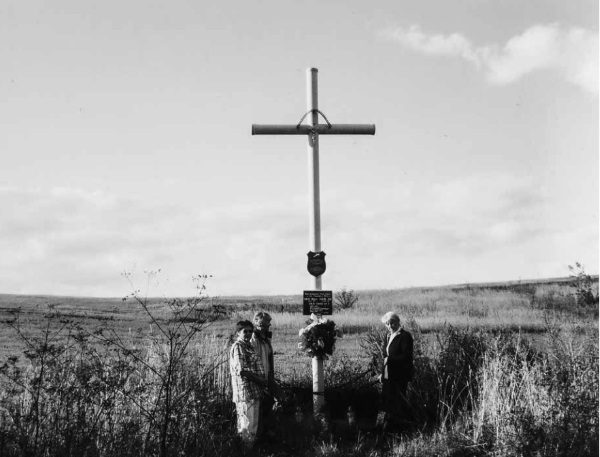 Krzyż w Fundumie (fot. materiały prasowe wydawnictwa Znak Horyzont)