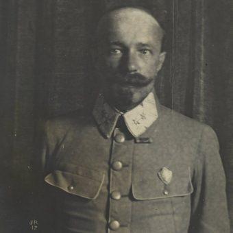 Leon Berbecki na zdjęciu z okresu służby w Legionach Polskich.