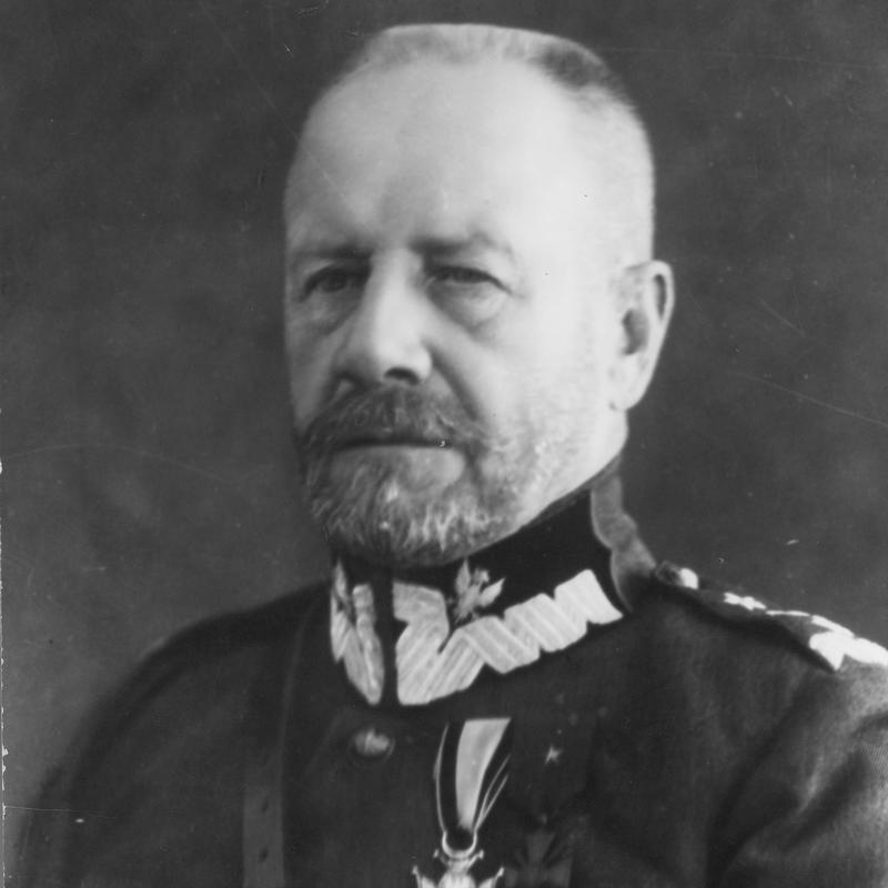 Dowódca 10 Dywizji Piechoty gen. Lucjan Żeligowski.