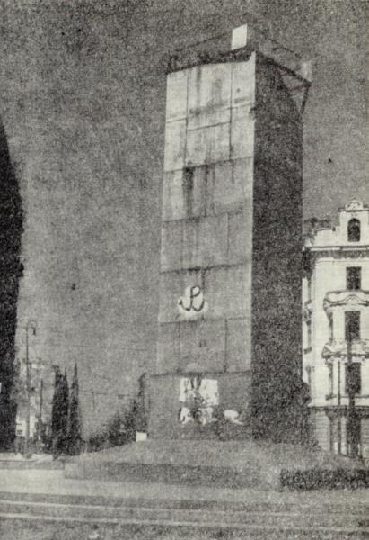 """Autorem tej """"Kotwicy"""", namalowanej na jedynym z budynków warszawskich w czasie II wojny światowej, był Jan Gut."""