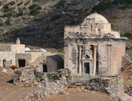 Mauzoleum Neiko, przekształcone w bizantyjski kościół (fot. Thanos Kartsoglou, Greckie Ministerstwo Kultury)
