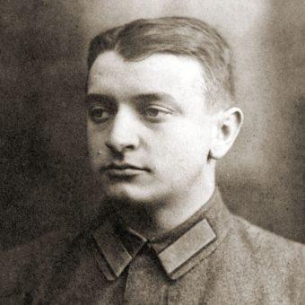 Dowódca Frontu Zachodniego Michaił Tuchaczewski. Zdjęcie z lat 20.