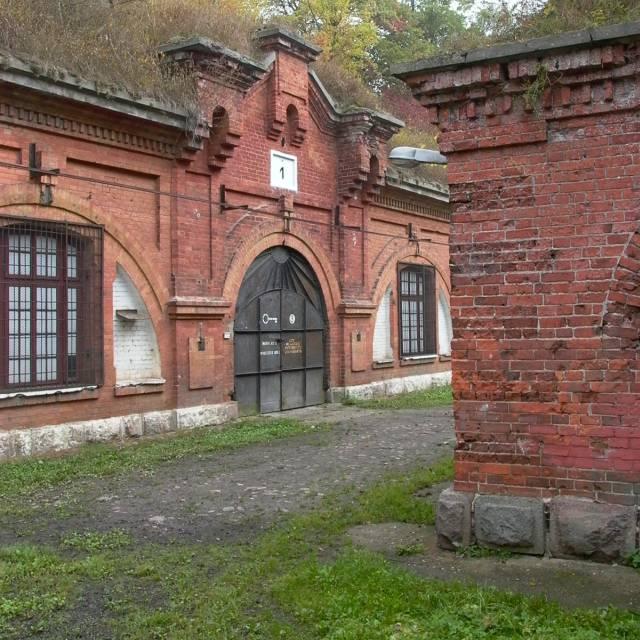 Jeden z fortów twierdzy Modlin.