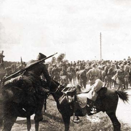 Odwrót oddziałów 3 Armii Wojska Polskiego spod Kijowa.