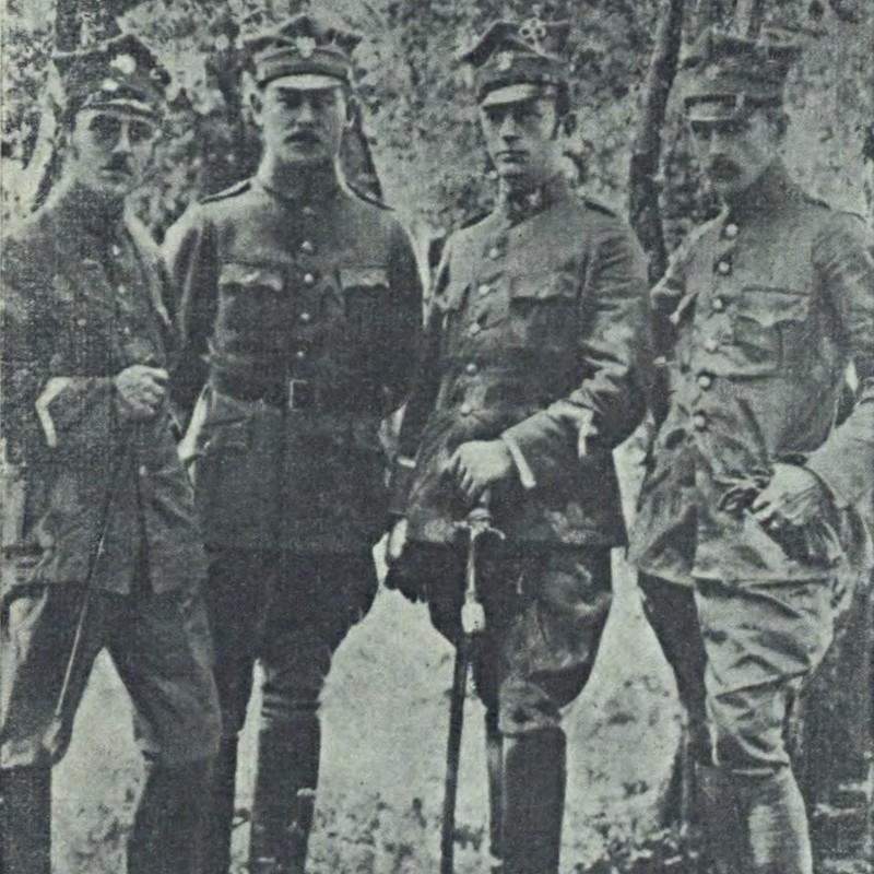 Oficerowie Pułku Strzelców Bytomskich 1919