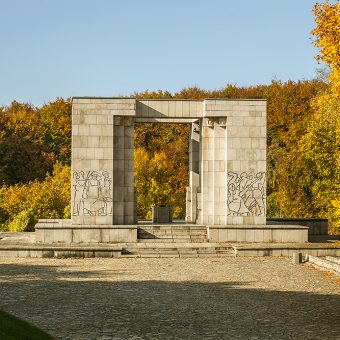 Pomnik Czynu Powstańczego na Górze św. Anny.