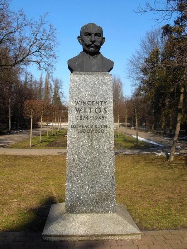 Popiersie Wincentego Witosa w Bydgoszczy (fot. Pit1233, lic CC0)