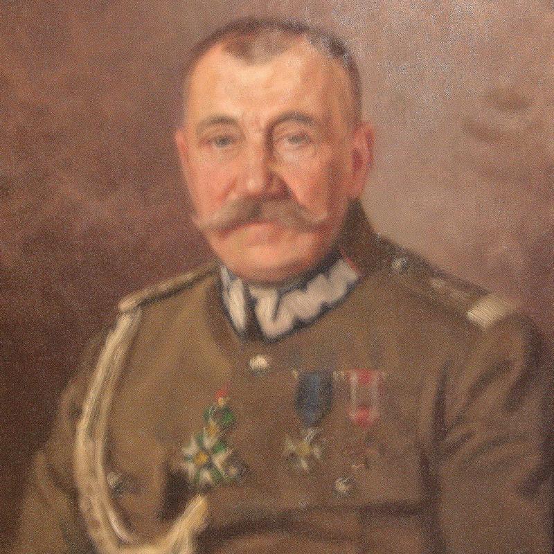 Dowódca 1 Dywizji Litewsko-Białoruskiej Jan Rządkowski.