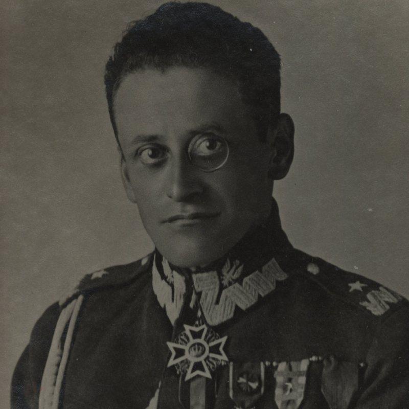 Szef Sztabu Armii Rezerwowej Stanisław Burhardt-Bukacki. Na zdjęciu z lat 30. już jako generał.