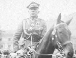 generał Stanisław Szeptycki, w 1919 roku dowódca Frontu Litewsko-Białoruskiego. Zdjęcie z lat 20.