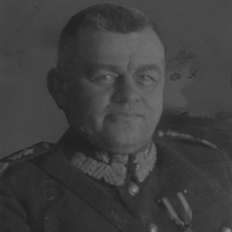 Dowódca 1 Armii generał Stefana Majewski.