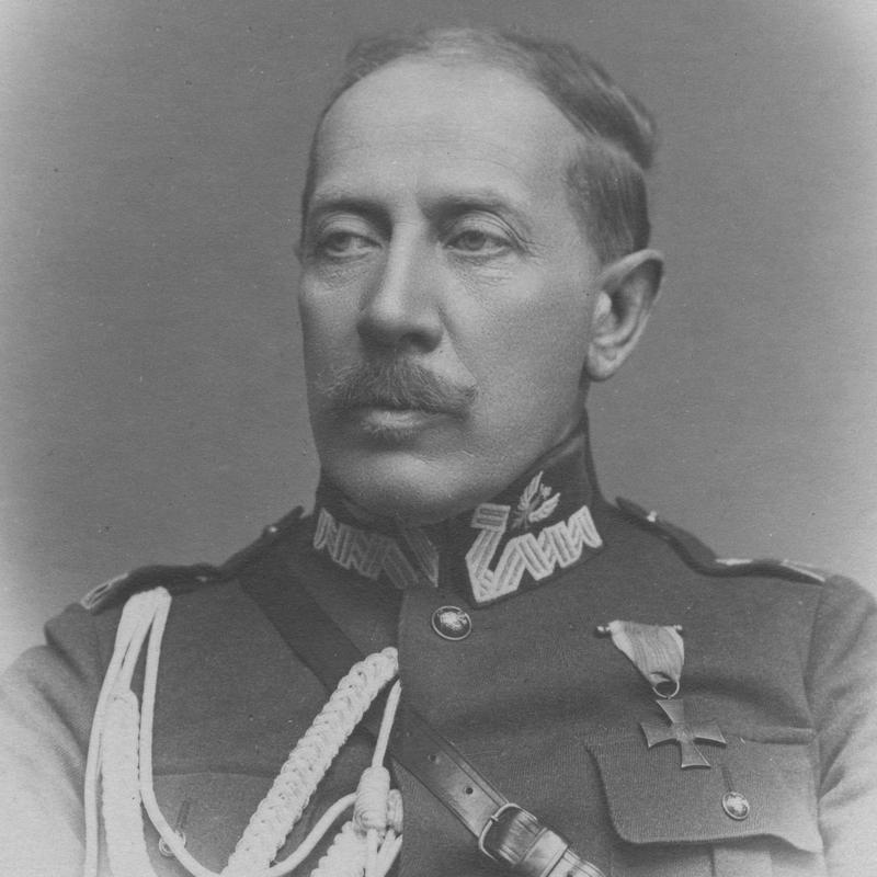 Dowódca 8 Dywizji Piechoty generał Stefan Mokrzecki.
