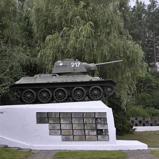 Pomnik poległych w bitwie pod Studziankami.