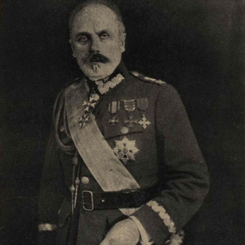 Dowódca polskich sił w bitwie pod Brzeżanami generał Władysław Jędrzejewski.