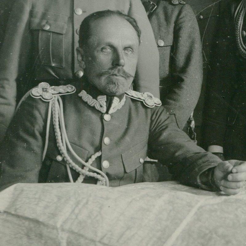 Dowódca polskich wojsk w bitwie pod Gołogórami generał Władysław Jędrzejewski.