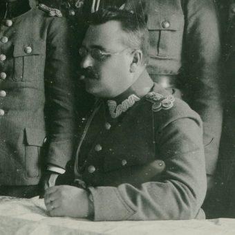 Dowódca majowej ofensywy w Galicji Wschodniej generał Wacław Iwaszkiewicz.