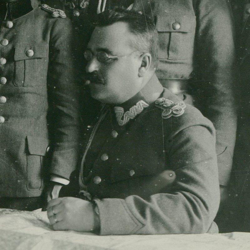Dowódca majowej ofensywy generał Wacław Iwaszkiewicz.