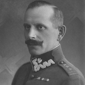 Wacław Przeździecki, dowódca XIII Brygady Piechoty, która wchodziła w skład 7 Dywizji Piechoty.