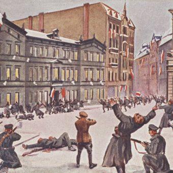 Szturm na prezydium policji w Poznaniu. 27 grudnia 1918 roku.