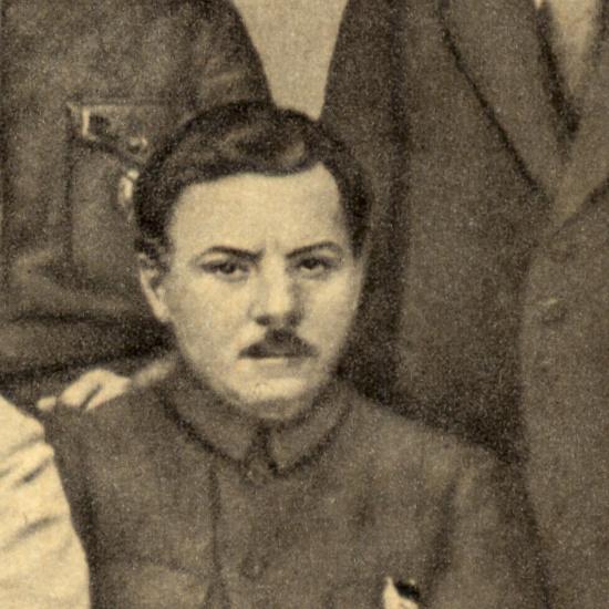 Kliment Woroszyłow na zdjęciu z 1920 roku.