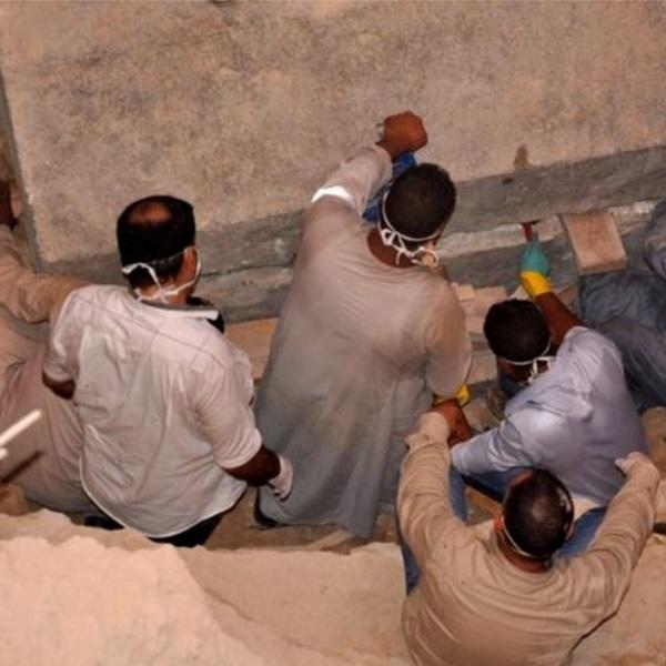 Wykopaliska w Aleksandrii (fot. egipskie Ministerstwo ds. Starożytności)